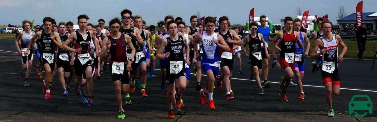 British triathlon sponsored by MotorEasy
