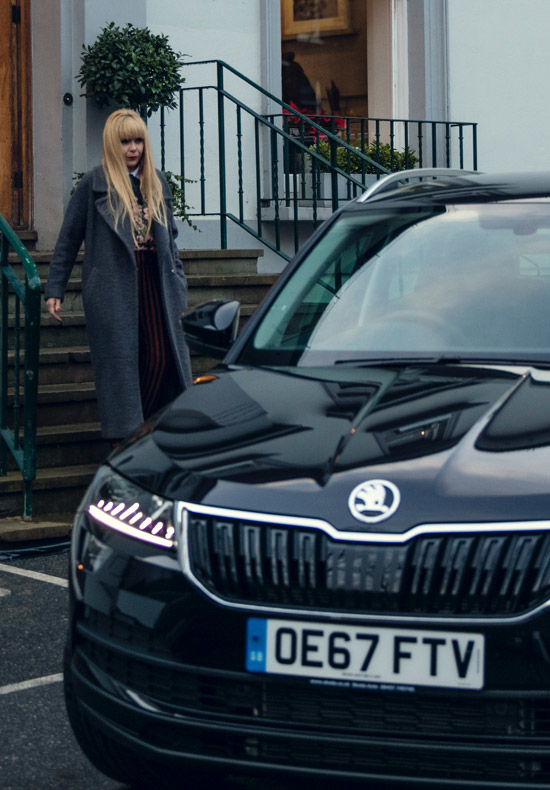 Skoda and Paloma Faith
