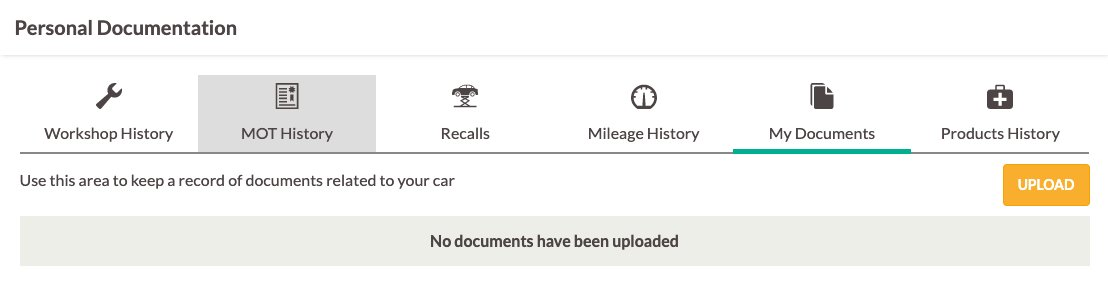 Upload Car Documents