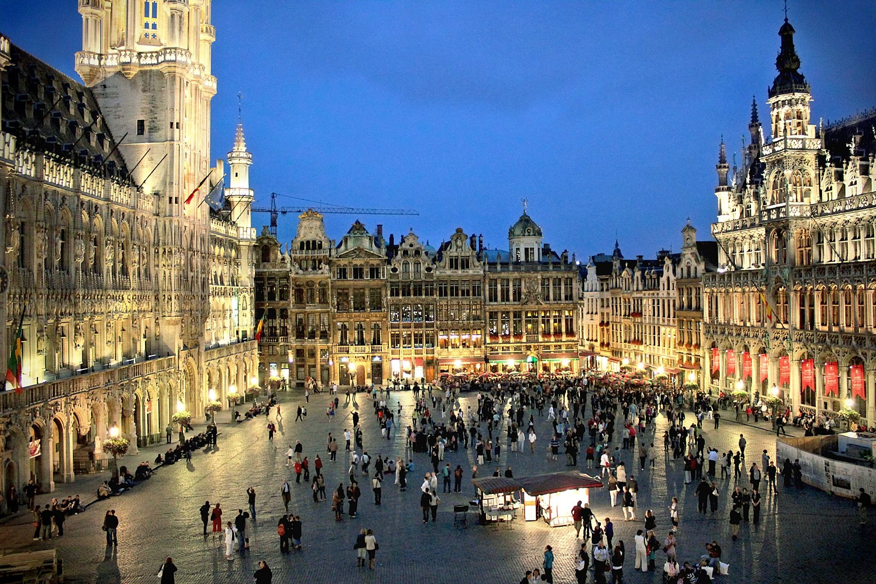 grand place brussels road trip channel tunnel