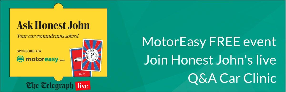 Free Event Honest John Q&A clinic