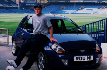 Wayne Rooney with a KA