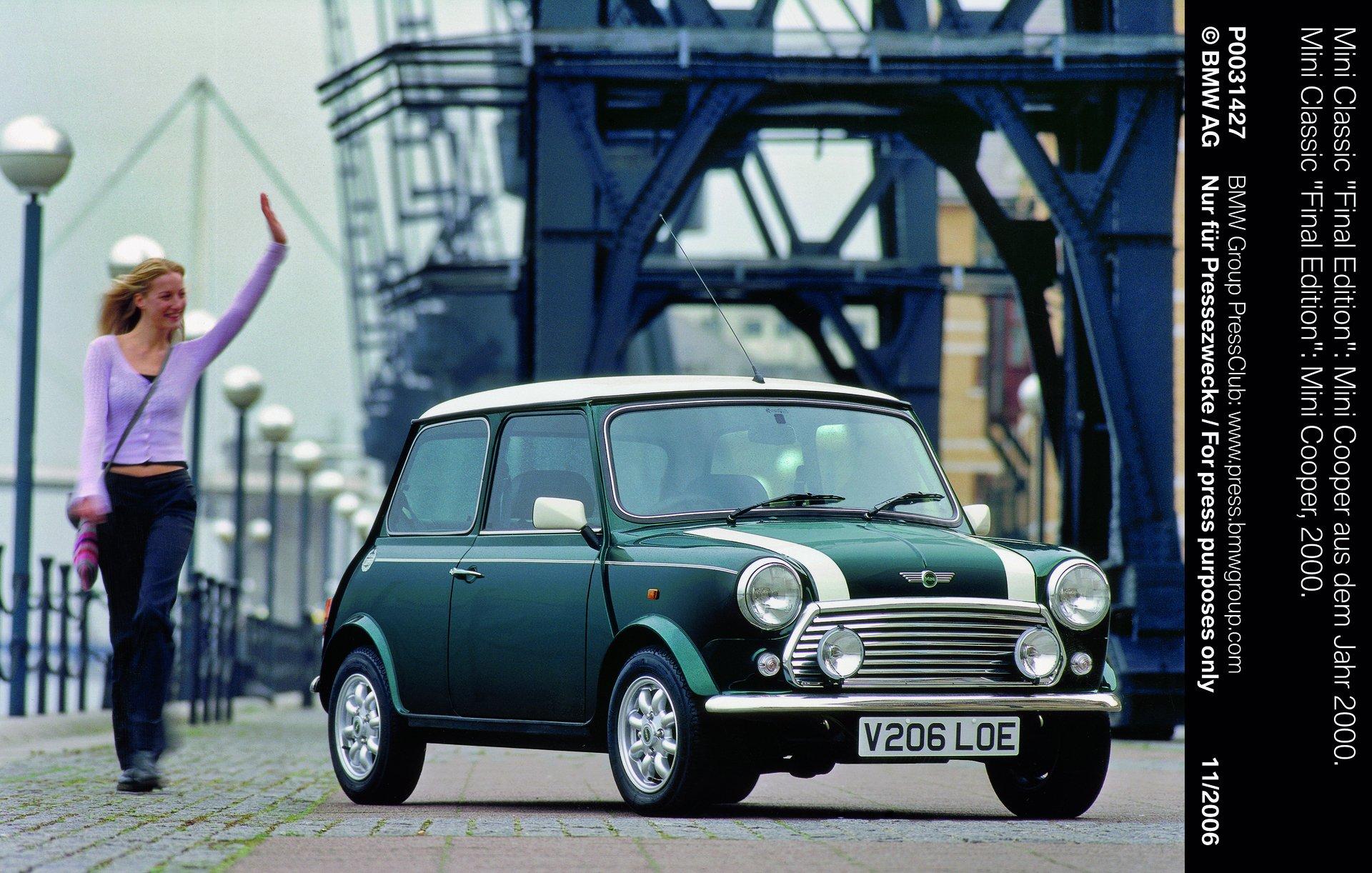1960s Original Mini Cooper
