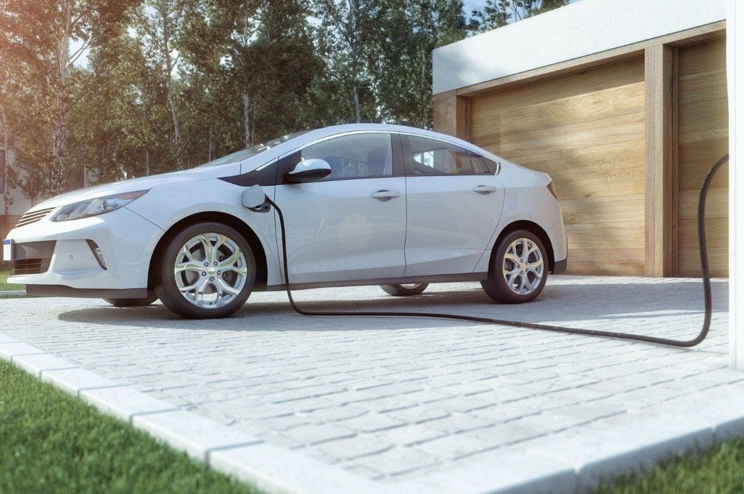 Home Charging Electric Vehicle