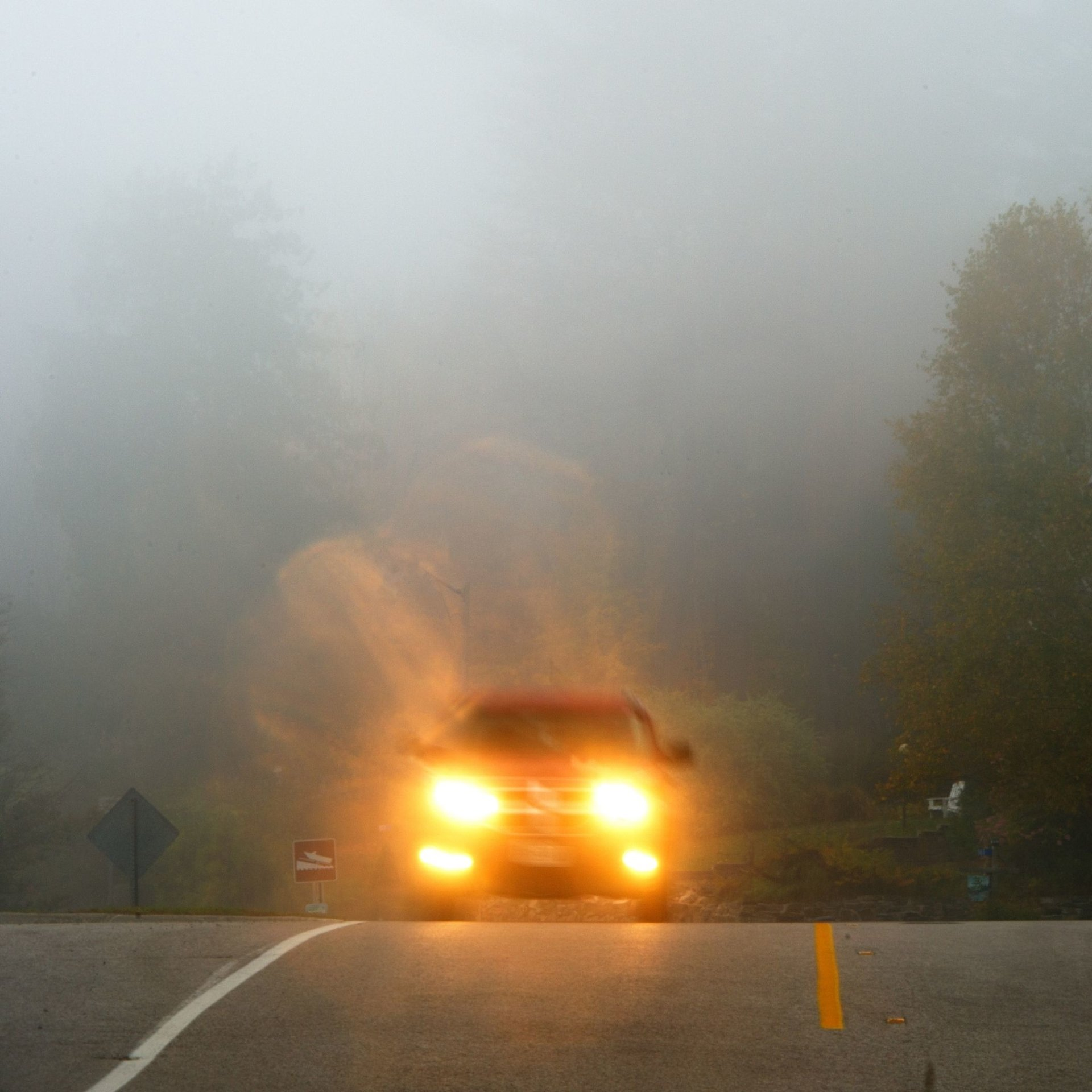 Car headlights and bulbs are needed to be seen in dark, foggy conditions