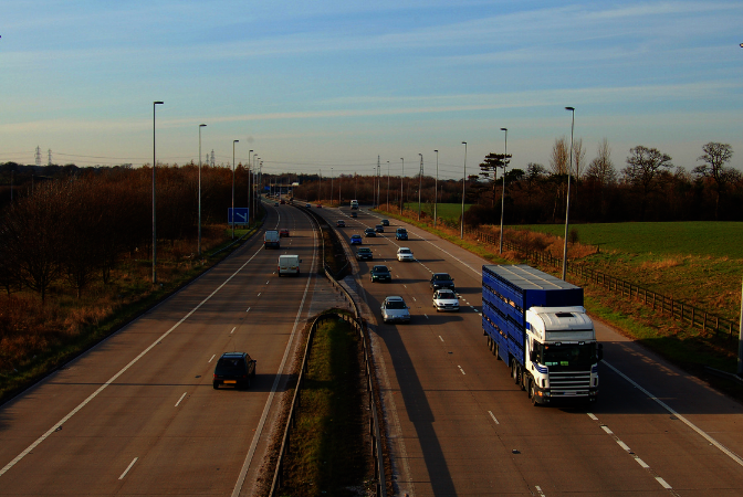 Motorway driving laws