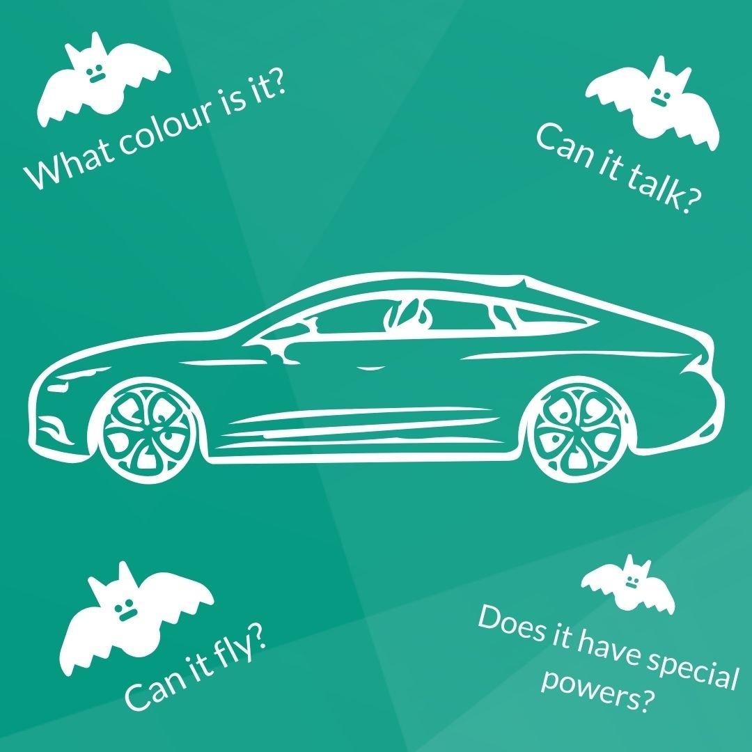 Create a spooky car