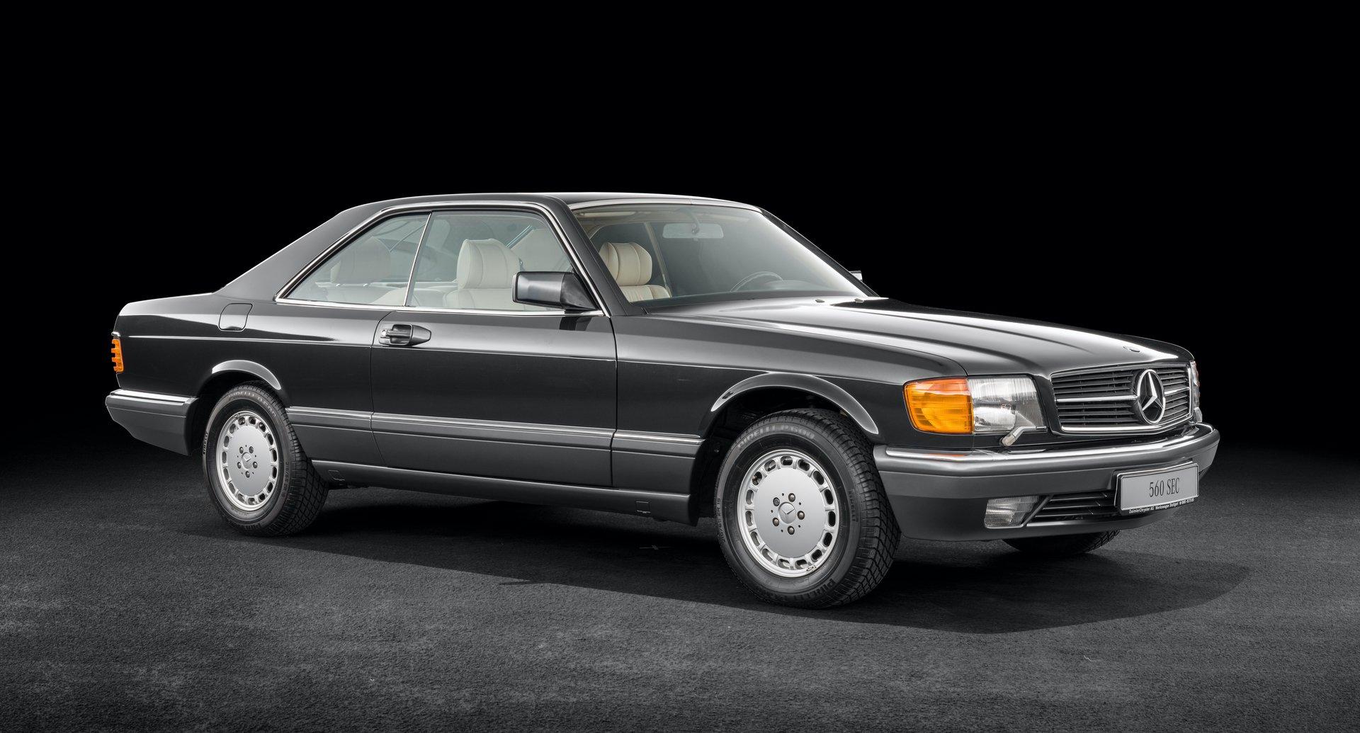 1980s Mercedes SEC
