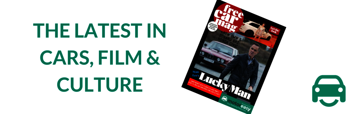 Enjoy cars, news, celebrity and culture with free car mag