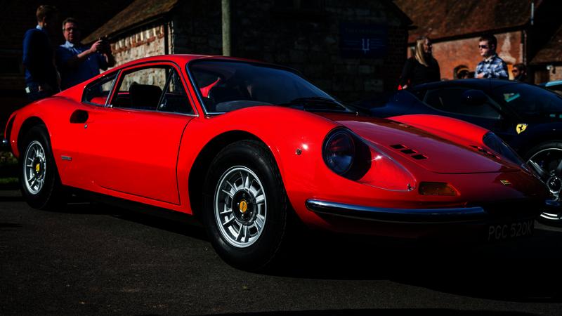 Ferrari Dino at shelsey walsh - chronosandcars