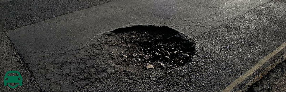 Report a pothole or make a claim