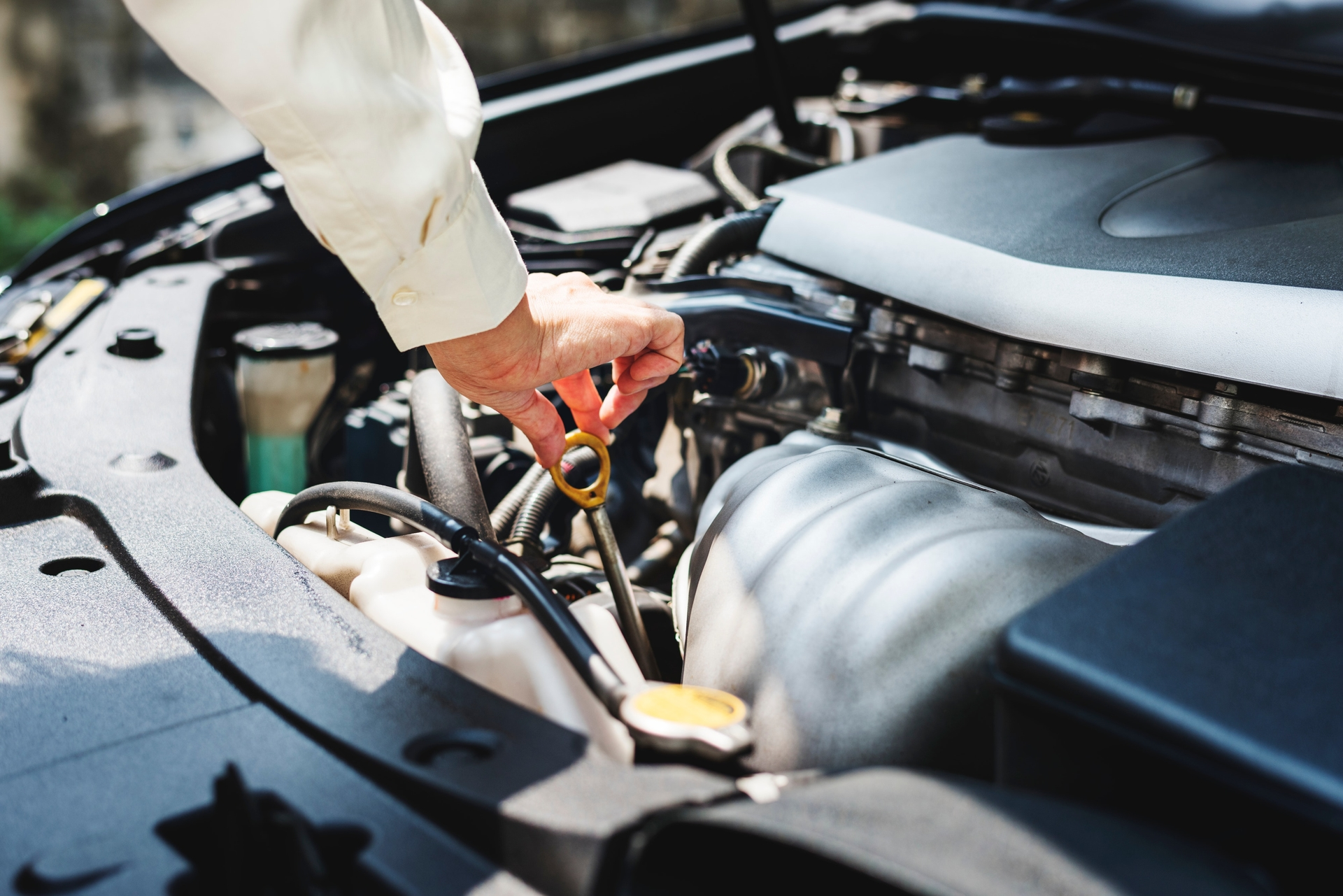 check under the bonnet before taking your car on the road