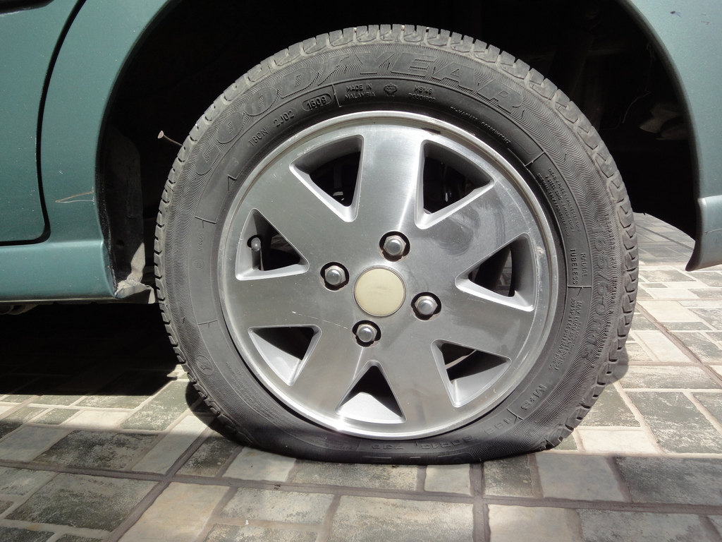 Check your car tyres before getting it back on the road