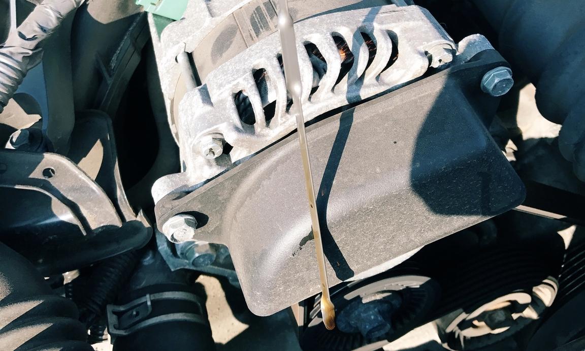 dipstick car oil level indicator