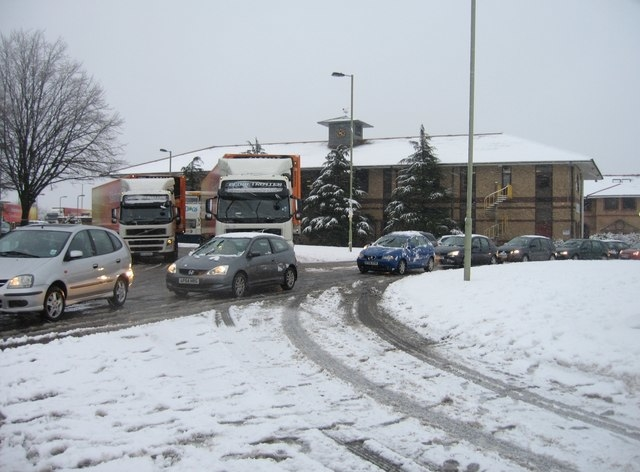 Traffic Jam in winter causing clutches to fail