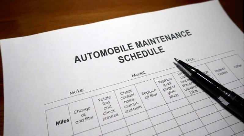 Stick to your car service schedule