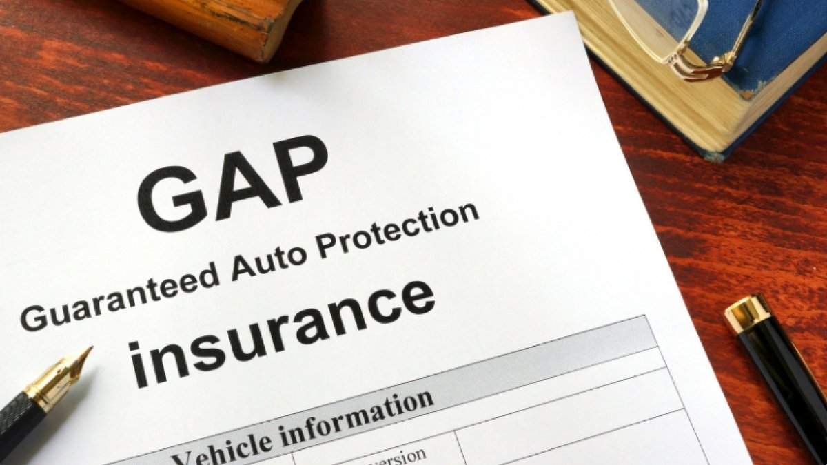 How will GAP insurance help in the event of a car accident?