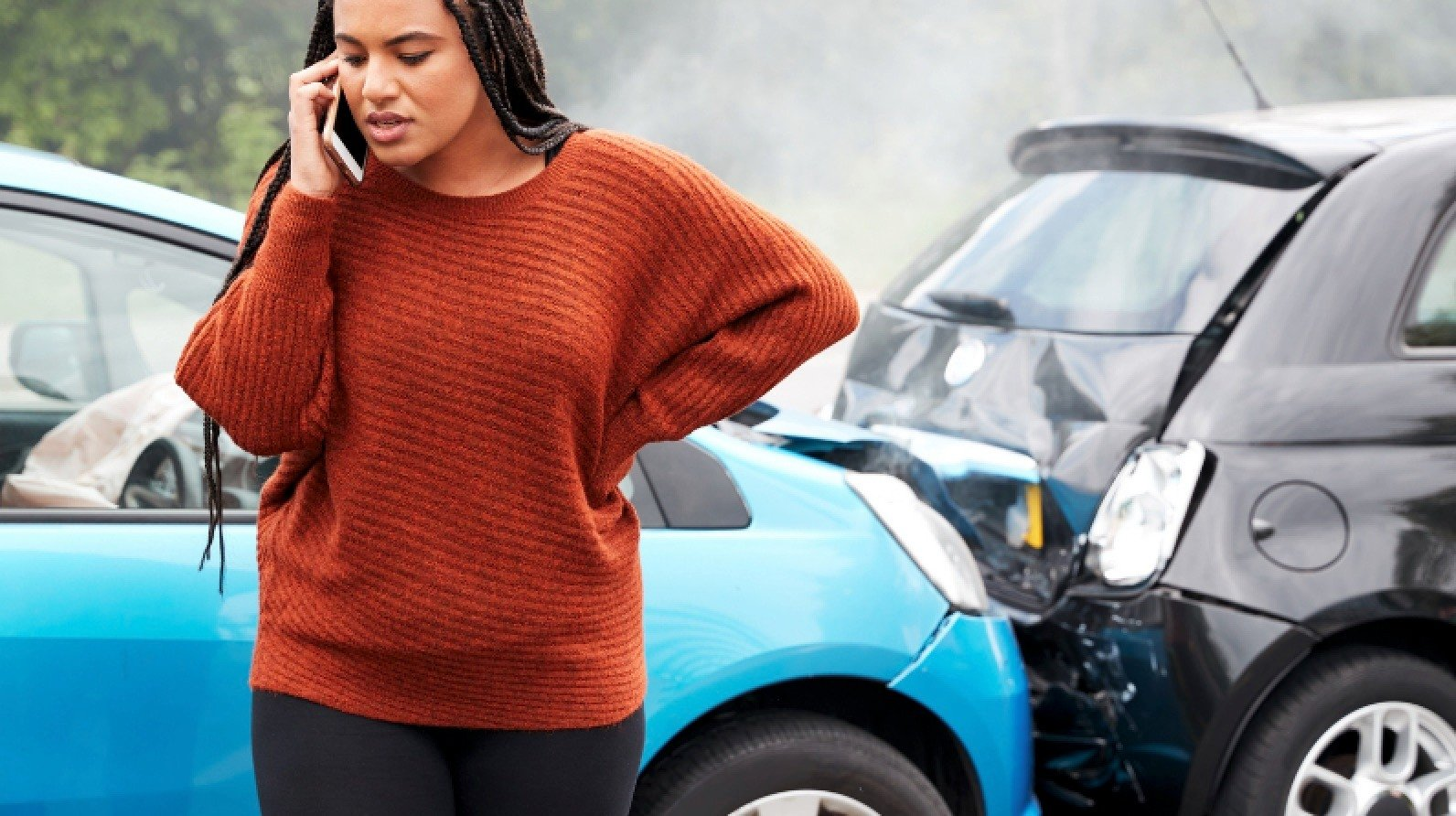 Contact your car insurance company in the event of an accident