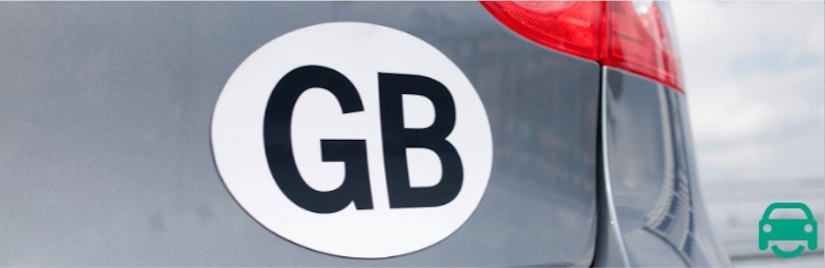 GB or UK car stickers - what's changing?