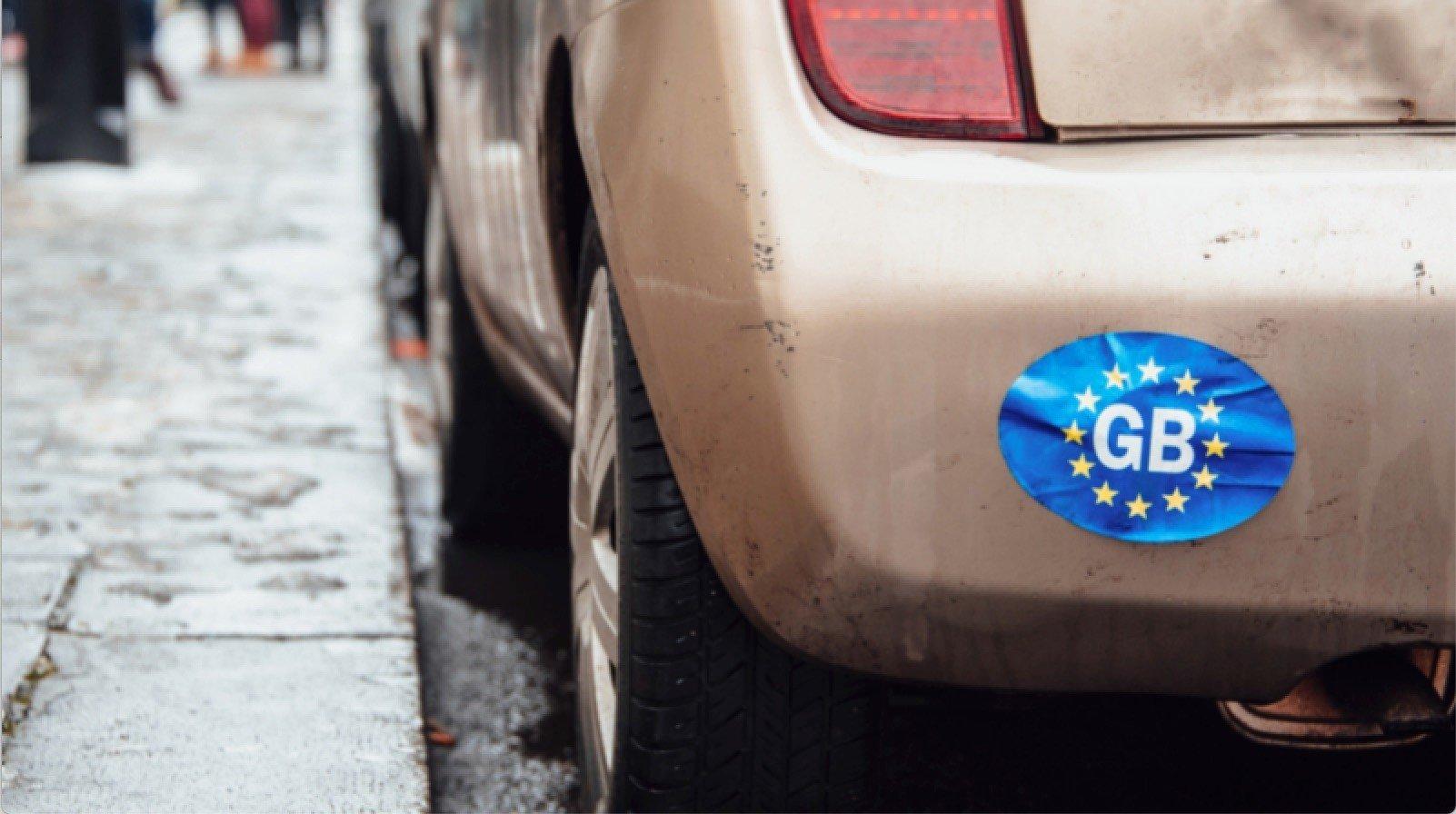 Great Britain Car Sticker
