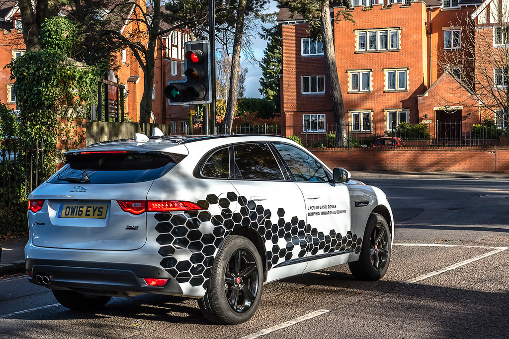 Self Driving Jaguar autonomous control