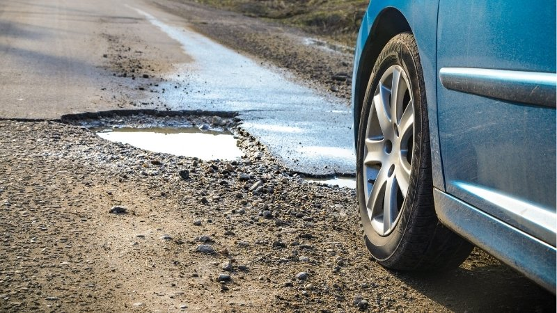 Watch out for potholes