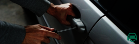 Thief arrested after stealing a car - car theft GAP Insurance