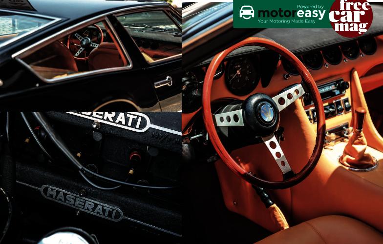 Maserati interior