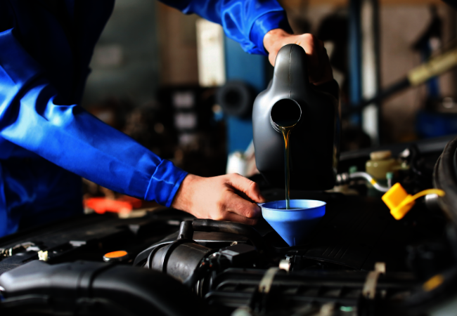 top up your cars fluid levels