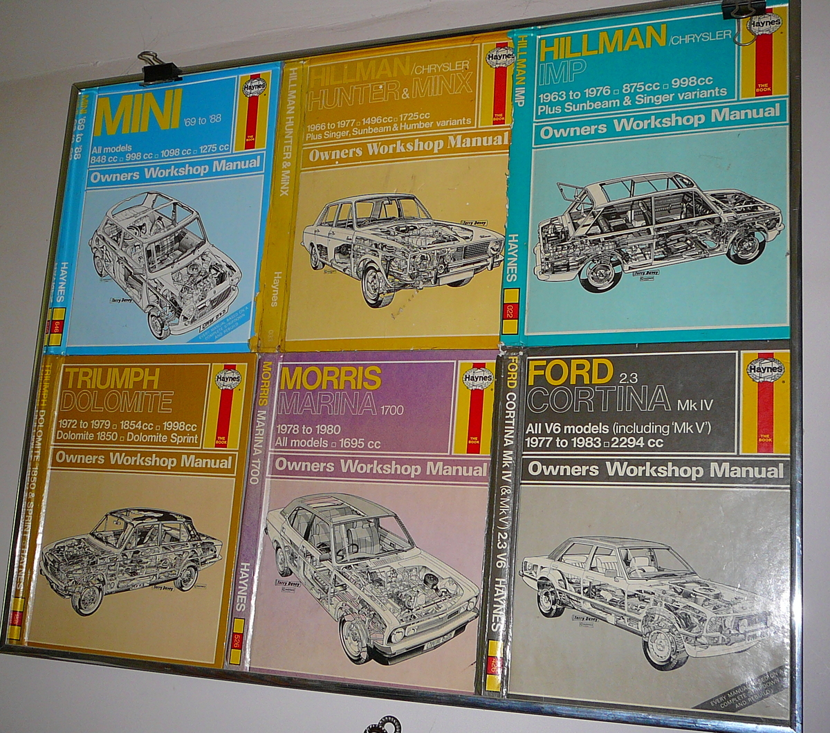 Haynes manuals car repairs servicing maintenance