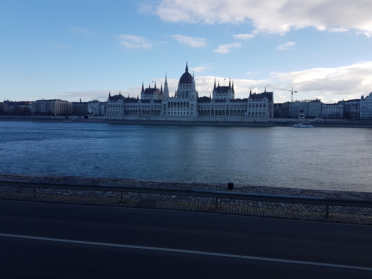 Budapest holiday parliament royal palace across the river danube