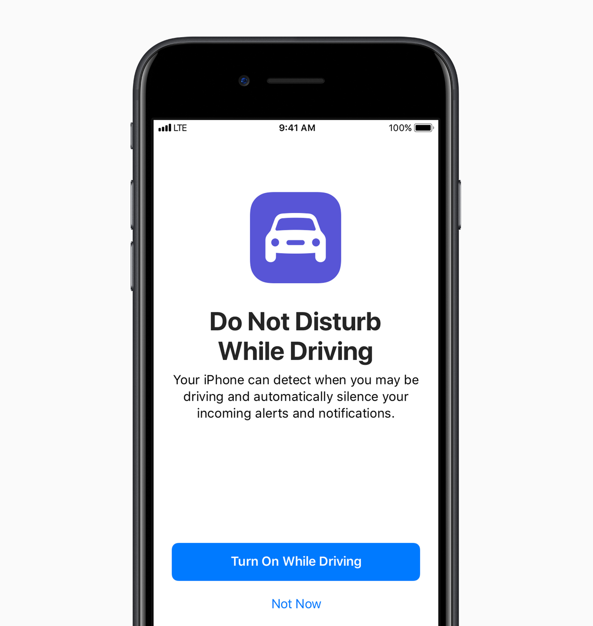 Do Not Disturb While Driving iPhone IOS 11