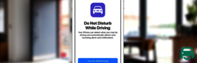 mobile phone ios 11 apple iphone driver distraction car safety