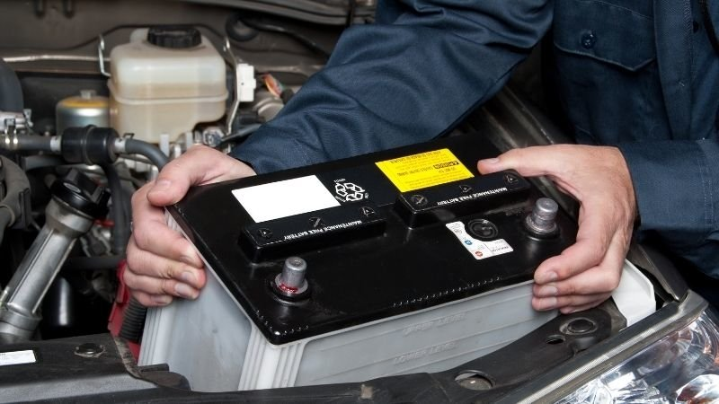 Why does a car battery drain?