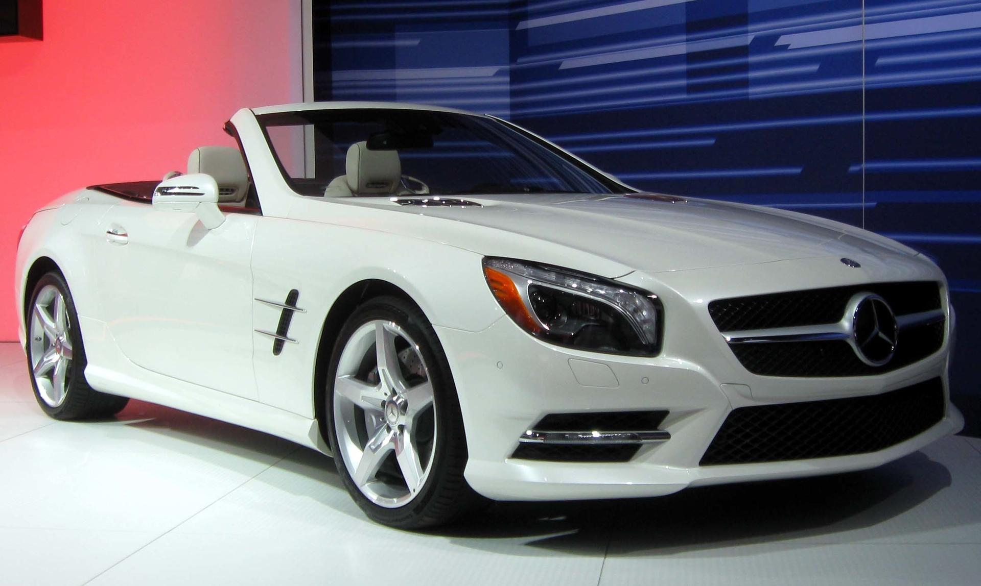 Convertible Coupe Car Mercedes MotorEasy