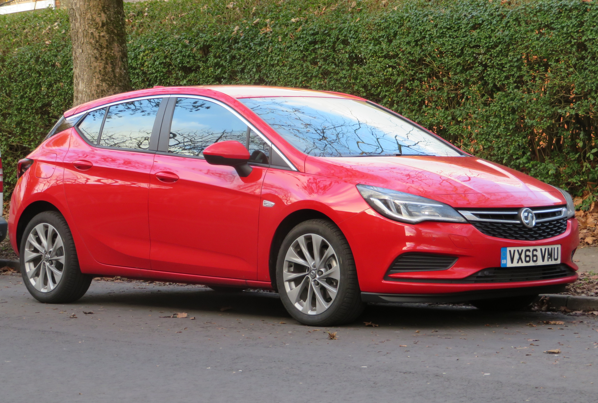 vauxhall astra used car warranty