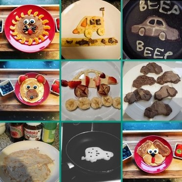 Competition winners of our car shaped pancake day competition