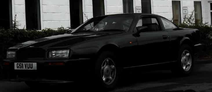 Rowan Atkinson Aston Martin