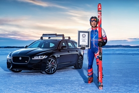 Graham Bell World Record Jaguar Land Rover