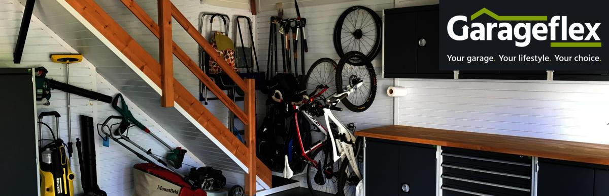 Garageflex garage organisation tidy managed solutions