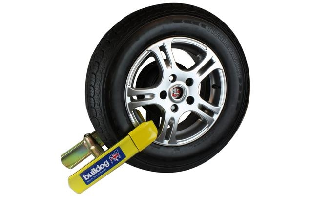 wheel clamp