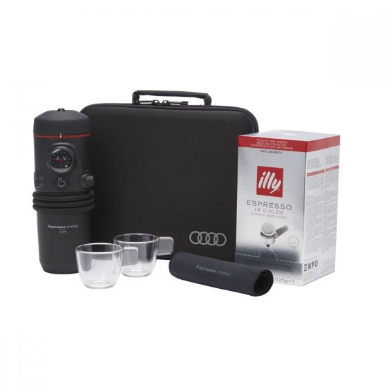 Audi Espresso Machine In Car Coffee On the Go