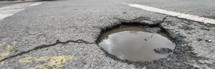 Top tips for avoiding pothole damage