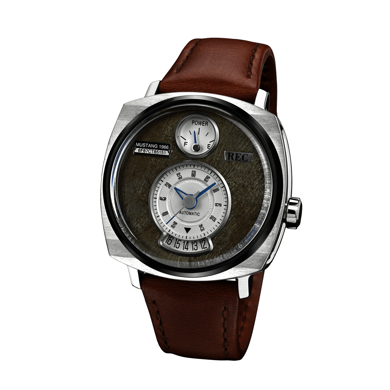 Ford Mustang Recycled Watch