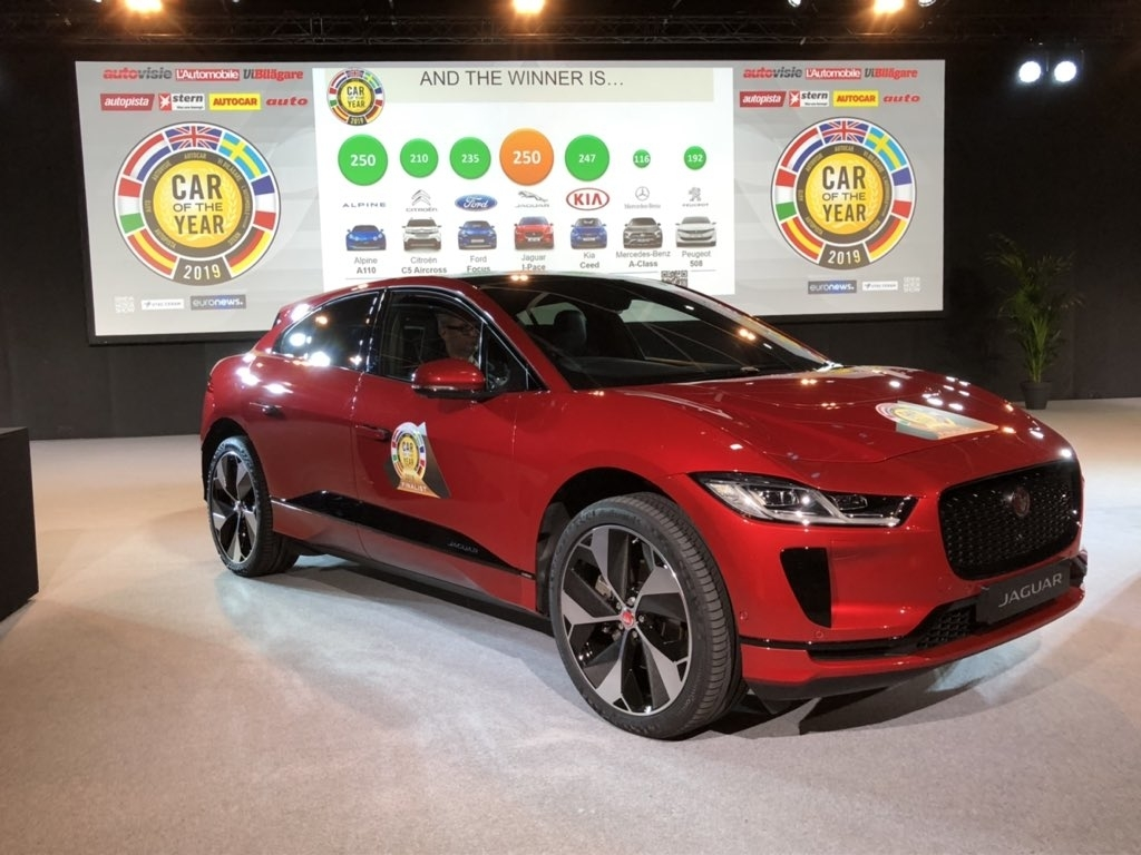 jaguar ipace at geneva motor show