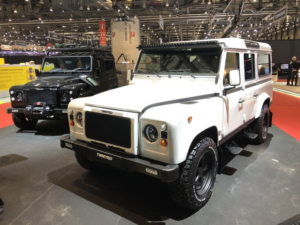 land rover defender twisted geneva motor show