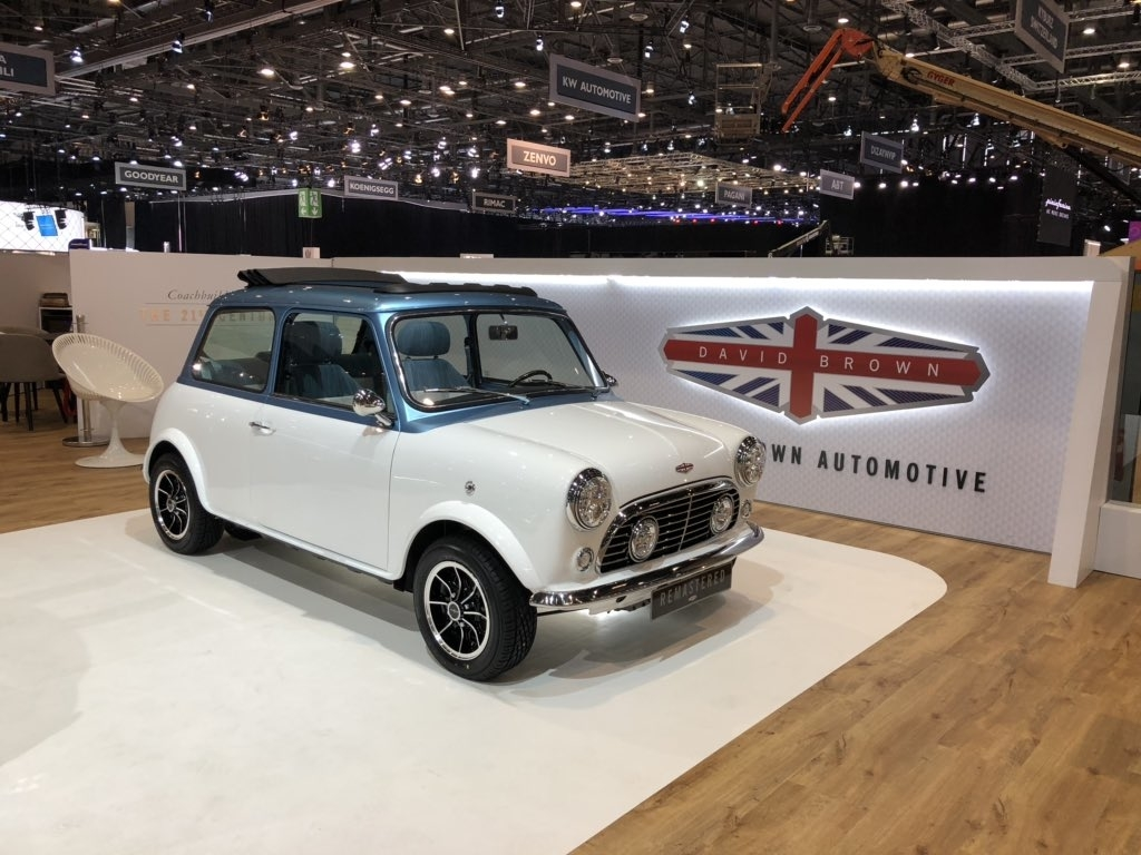 mini remastered geneva motor show