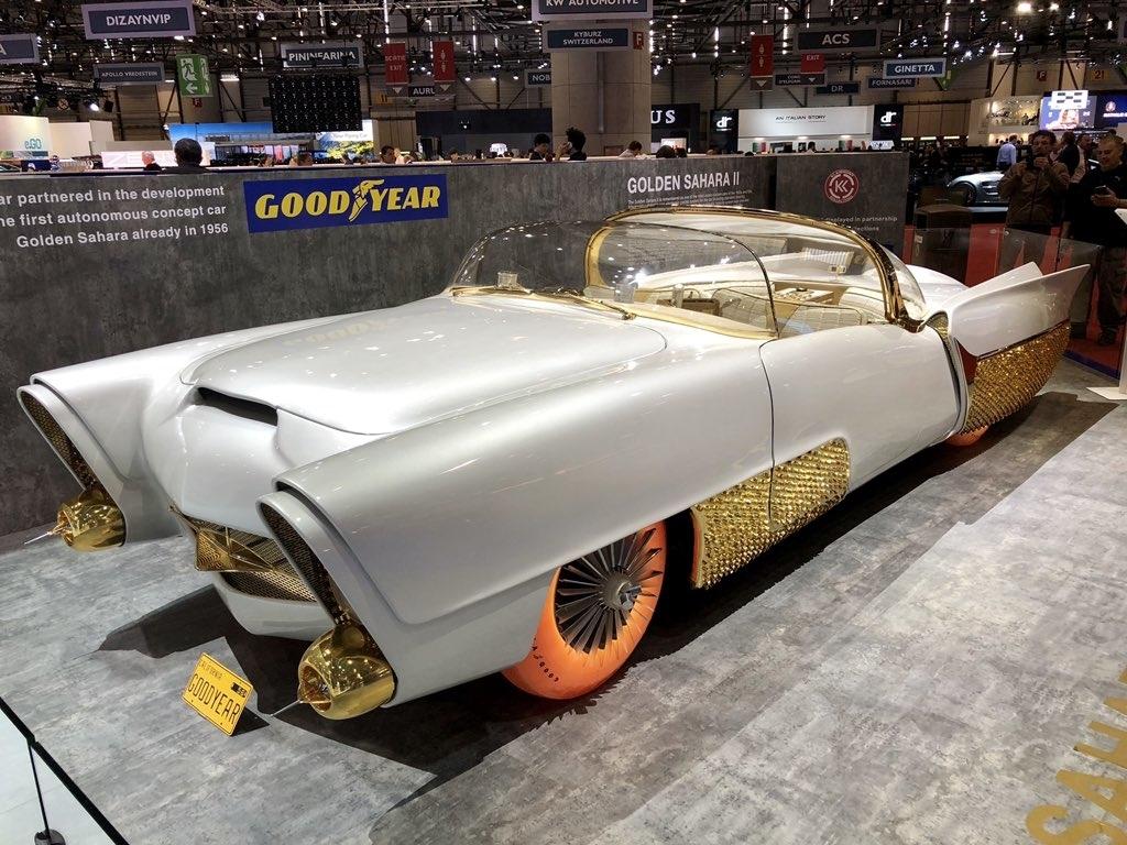 golden sahara 2 remodelled geneva motor show
