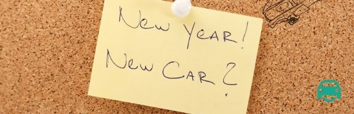New year, new car, new years resolution