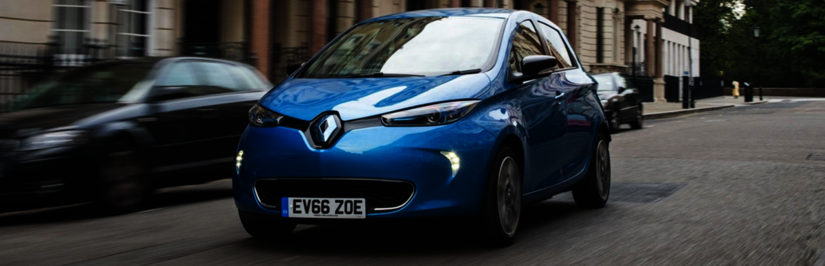 Electric car fast depreciation Renault Zoe